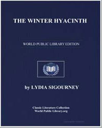 The Winter Hyacinth by Sigourney, Lydia