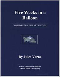 Five Weeks in a Balloon by Verne, Jules