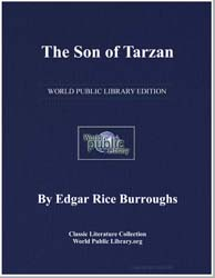 The Son of Tarzan by Burroughs, Edgar Rice