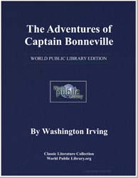 The Adventures of Captain Bonneville by Irving, Washington