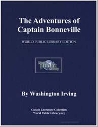 The Adventures of Captain Bonneville by Irving, Washington