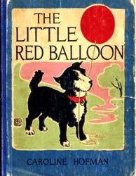 The Little Red Balloon by Hofman, Caroline