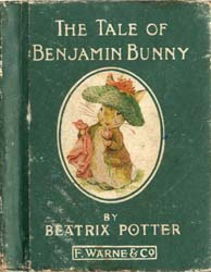 The Tale of Benjamin Bunny by Potter, Beatrix