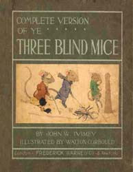 Three Blind Mice by Ivimey, John William