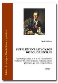 Supplement au Voyage de Bougainville by Diderot, Denis