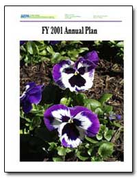 Fy 2001 Annual Plan by Environmental Protection Agency