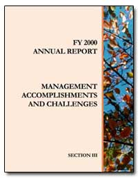 Annual Report : The Nation's Efforts to ... by Environmental Protection Agency