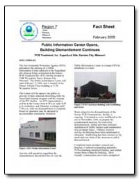 Public Information Center Opens, Buildin... by Environmental Protection Agency