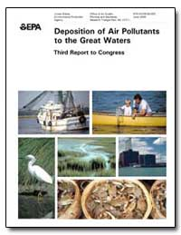 Deposition of Air Pollutants to the Grea... by Allan, Mary Ann