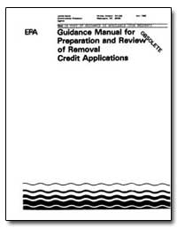 Guidance Manual for Preparation and Revi... by Environmental Protection Agency