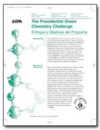 The Presidential Green Chemistry Challen... by Environmental Protection Agency