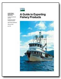 A Guide to Exporting Fishery Products by Federal Trade Commission