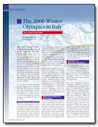 The 2006 Winter Olympics in Italy by Bevini, Federico