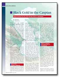 Black Gold in the Caspian by Falco, Tish