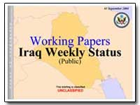Working Papers Iraq Weekly Status (Publi... by Sistani, Ayatollah
