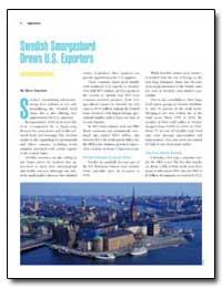 Swedish Smorgasbord Draws U.S. Exporters by Engstrom, Bjorn
