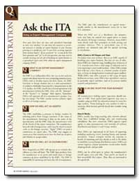 Ask the Ita by Federal Trade Commission