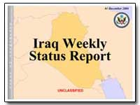 Iraq Weekly Status Report by Federal Trade Commission