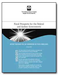 Fiscal Prospects for the Federal and Que... by Cookey, Taba