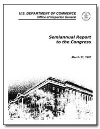 Semiannual Report to the Congress by Degeorge, Francis D.