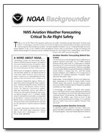 Nws Aviation Weather Forecasting Critica... by Department of Commerce