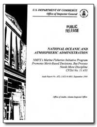 National Oceanic and Atmospheric Adminis... by Department of Commerce