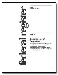 Department of Education [Cfda No. : 84. ... by Takai, Ricky T.
