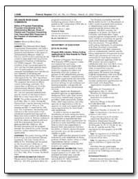 Delaware River Basin Commission Notice o... by Bush, Pamela M.
