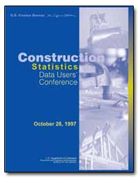 Construction Statistics Data Users Confe... by Daley, William M.