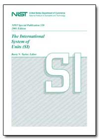 The International System of Units (Si) by Taylor, Barry N.