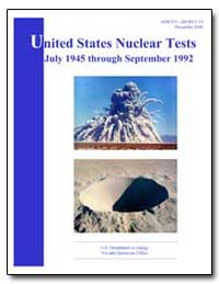 United States Nuclear Tests July 1945 th... by