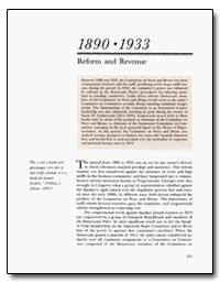 Reform and Revenue by Mckinley, William