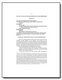 Section 12 - Social Welfare Programs in ... by Federal Depository Library