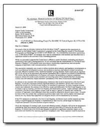 Alabama Association of Realtors Inc by Dannycooper, J.