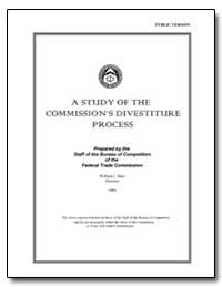 A Study of the Commissions Divestiture P... by