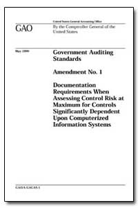 Government Auditing Standards Amendment ... by General Accounting Office