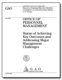 Status of Achieving Key Outcomes and Add... by General Accounting Office