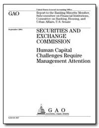 Securities and Exchange Commission Human... by General Accounting Office