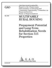 Multifamily Rural Housing Prepayment Pot... by Czerwinski, Stanley J.