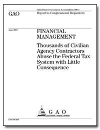 Financial Management Thousands of Civili... by General Accounting Office