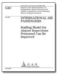 Staffing Model for Airport Inspections P... by Hostettler, John N.
