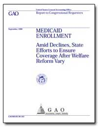 Medicaid Enrollment Amid Declines, State... by Allen, Katharine Gibbs