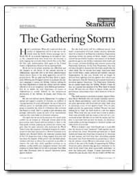 The Gathering Storm by Kagan, Robert