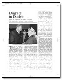 Disgrace in Durban the U. N. Conference ... by Krauthammer, Charles