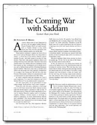 The Coming War with Saddam by Hayes, Stephen F.