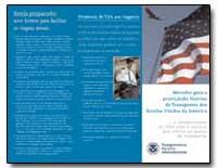 Promesa de Tsa a Los Viajeros by Transportation Security Administration