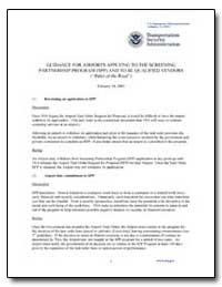 Guidance for Airports Applying to the Sc... by Transportation Security Administration