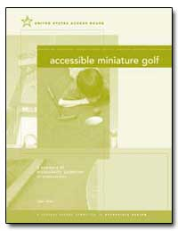 Accessible Miniature Golf by United States Access Board