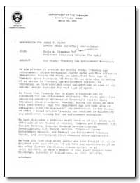 Oig Study : Treasury Law Enforcement Wor... by Sloan, James F.
