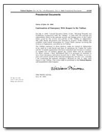 Notice of June 30, 2000 Continuation of ... by United States Department of the Treasury